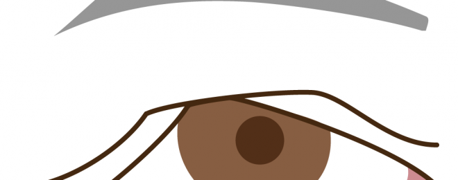 眼瞼下垂の手術と眉下切開3
