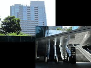六本木一丁目駅1番出口